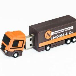Op maat gemaakte vrachtwagen USB
