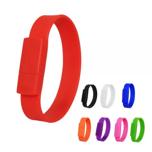 usb armband bedrukken logo
