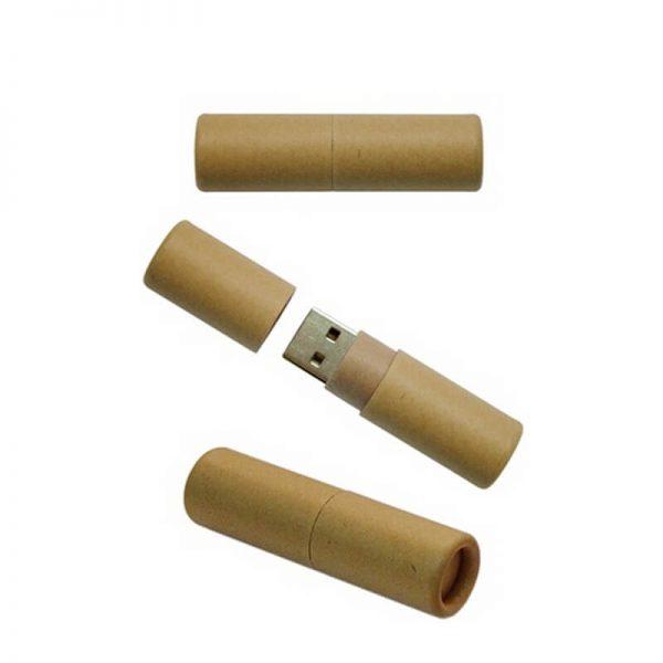 Duurzame USB stick rond
