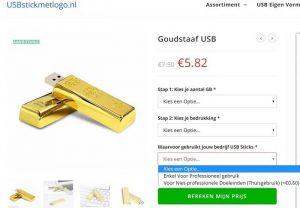 Thuiskopieheffing op USB-sticks betalen?
