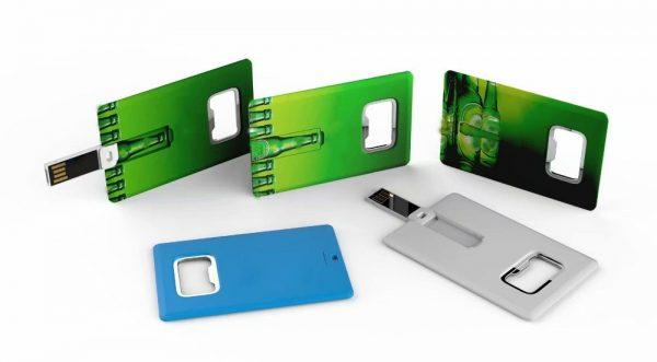 Creditcard USB-stick bedrukken met logo