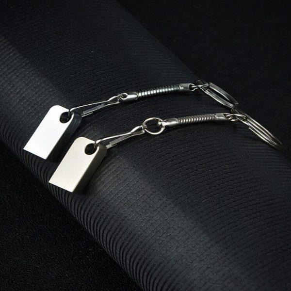 Premium USB stick met sleutelhanger