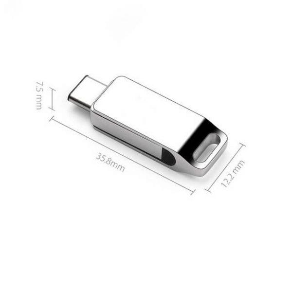 afmetingen luxe USB-stick met logo