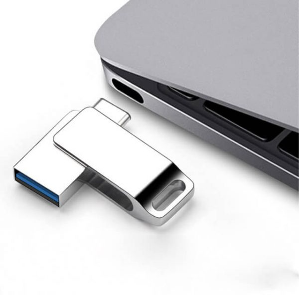 USB-stick met laptop bedrukbaar met logo (luxe)