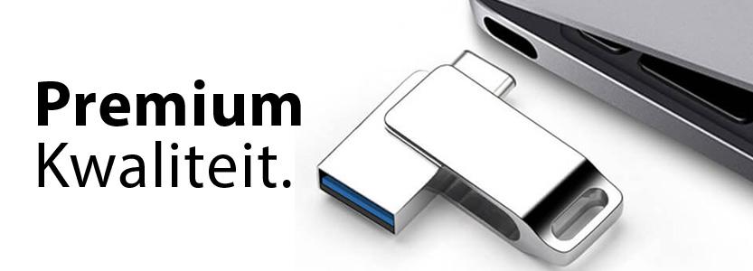 Luxe USB-sticks met logo bedrukken